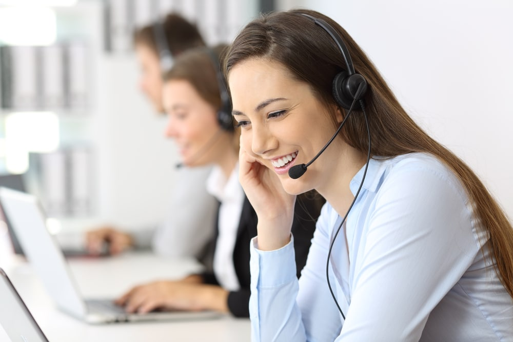 Beauty call center